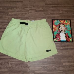 Columbia Green Outdoor Hiking Active Shorts Large